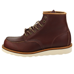 Red Wing 6-INCH MOC TOE Men Classic Boots in Oxblood