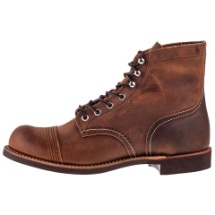 Red Wing IRON RANGER Men Casual Boots in Copper