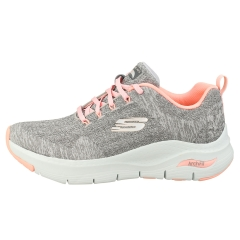 Skechers ARCH FIT COMFY WAVE Women Fashion Trainers in Grey Pink
