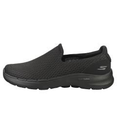 Skechers GO WALK 6 MOTLEY Men Walking Shoes in Black Black