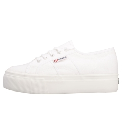 Superga 2790 LINEA UP AND DOWN Women Platform Trainers in White