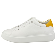 Ted Baker YINKA Women Casual Trainers in White Yellow
