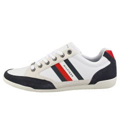 Tommy Hilfiger CORPORATE MATERIAL MIX CUPSOLE Men Casual Trainers in White