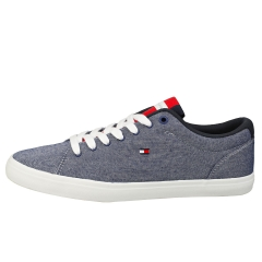 Tommy Hilfiger ESSENTIAL CHAMBRAY VULCANIZED Men Casual Trainers in Yale Navy