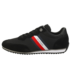 Tommy Hilfiger ESSENTIAL MESH RUNNER Men Casual Trainers in Black