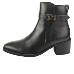 Tommy Hilfiger HARDWARE MID BOOTIE Women Ankle Boots in Black