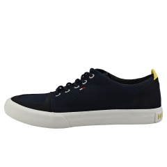 Tommy Hilfiger SEASONAL THICK MIX SNEAKER Men Casual Trainers in Midnight Navy