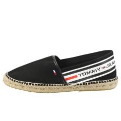 Tommy Jeans BRANDED ESPADRILLE Men Slip On Shoes in Black