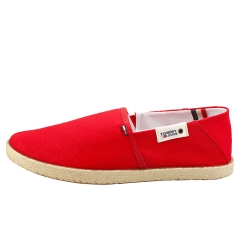 Tommy Jeans SUMMER SHOE Men Slip On Shoes in Red
