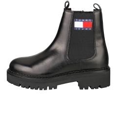 Tommy Jeans URBAN Women Chelsea Boots in Black