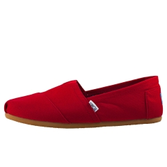 Toms CLASSIC Men Slip On Shoes in Red