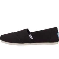 Toms CLASSIC Women Slip On Shoes in Black