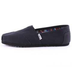 Toms CLASSIC Men Slip On Shoes in Black Black