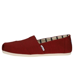 Toms CLASSIC HERITAGE Women Slip On Shoes in Cherry