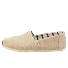 Toms CLASSIC HERITAGE Women Slip On Shoes in Natural