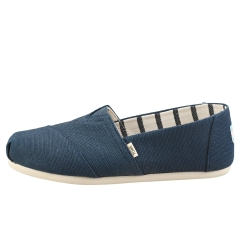 Toms CLASSIC MAJOLICA HERITAGE Women Slip On Shoes in Blue