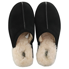 UGG SCUFF Men Slippers Shoes in Black