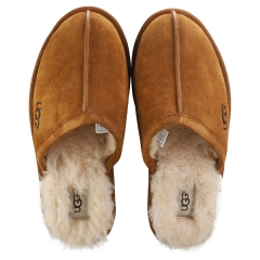 UGG SCUFF Men Slippers Shoes in Chestnut
