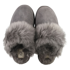 UGG SCUFF SIS Women Slippers Shoes in Charcoal