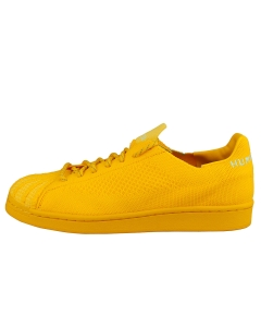 adidas PW SUPERSTAR PK Unisex Fashion Trainers in Yellow