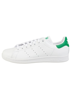 adidas STAN SMITH Men Classic Trainers in White Green