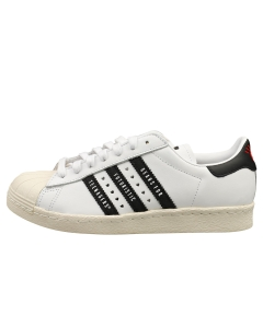 adidas SUPERSTAR 80S HUMAN MADE Men Classic Trainers in White Black