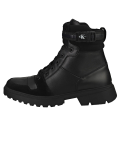 Calvin Klein CHUNKY MID LACEUP Men Chukka Boots in Black