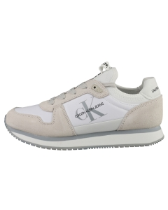 Calvin Klein RUNNER LACEUP SNEAKER SOCK Women Casual Trainers in Bright White