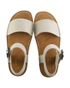 Clarks Originals LUNAN STRAP Women Walking Sandals in White