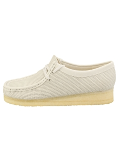 Clarks Originals WALLABEE Women Wallabee Shoes in Off White