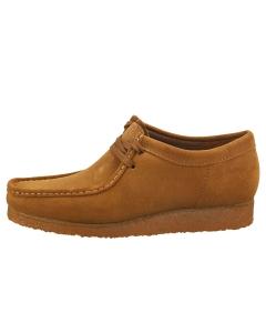 Clarks Originals WALLABEE Men Wallabee Shoes in Cola Suede