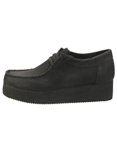 Clarks Originals WALLACRAFT LO Women Wallabee Shoes in Black