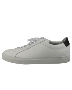 COMMON PROJECTS RETRO LOW Men Casual Trainers in White Black