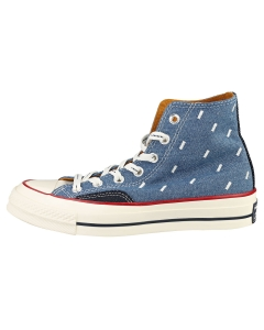 Converse CHUCK 70 HI Unisex Casual Trainers in Jeans Blue