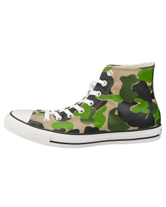 Converse CHUCK TAYLOR ALL STAR HI Unisex Fashion Trainers in Black Camouflage