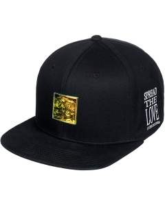 DC Shoes 94 CHAMBERS SNAPBACK CAP Hat in Black