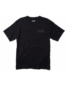 DC Shoes AC/DC BACK IN BLACK T-Shirt in Black