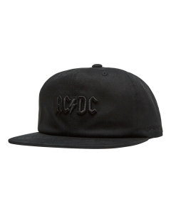 DC Shoes ACDC SNAPBACK Hat in Black
