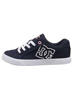 DC Shoes CHELSEA Women Fashion Trainers in Navy White