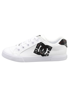 DC Shoes CHELSEA Women Fashion Trainers in White Plaid