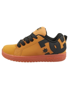 DC Shoes COURT GRAFFIK Kids Skate Trainers in Wheat