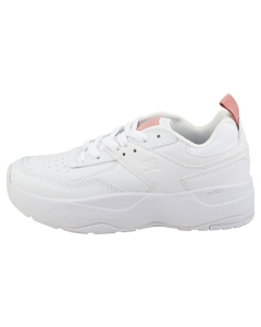 DC Shoes E.TRIBEKA Women Platform Trainers in White Pink