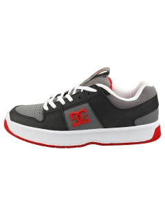 DC Shoes LYNX ZERO Kids Skate Trainers in Grey Red
