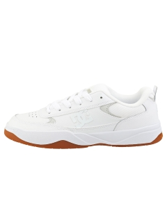 DC Shoes PENZA Men Skate Trainers in White White