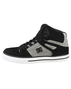 DC Shoes PURE HIGH-TOP WC Men Casual Trainers in Black Grey