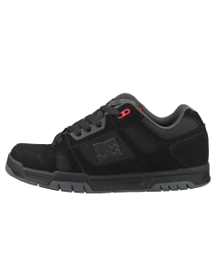 DC Shoes STAG Men Skate Trainers in Black Red