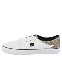 DC Shoes TRASE SE SN Men Casual Trainers in White Brown