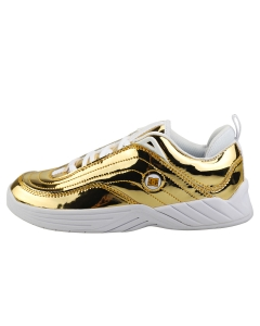 DC Shoes WILLIAMS SLIM Women Skate Trainers in Gold