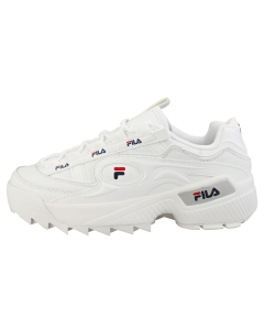 Fila D-FORMATION Women Fashion Trainers in White Navy Red