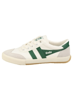Gola BADMINTON Women Casual Trainers in Off White Green